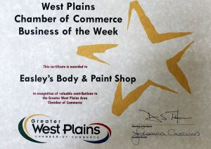West Plains Chamber of Commerce Business of the week